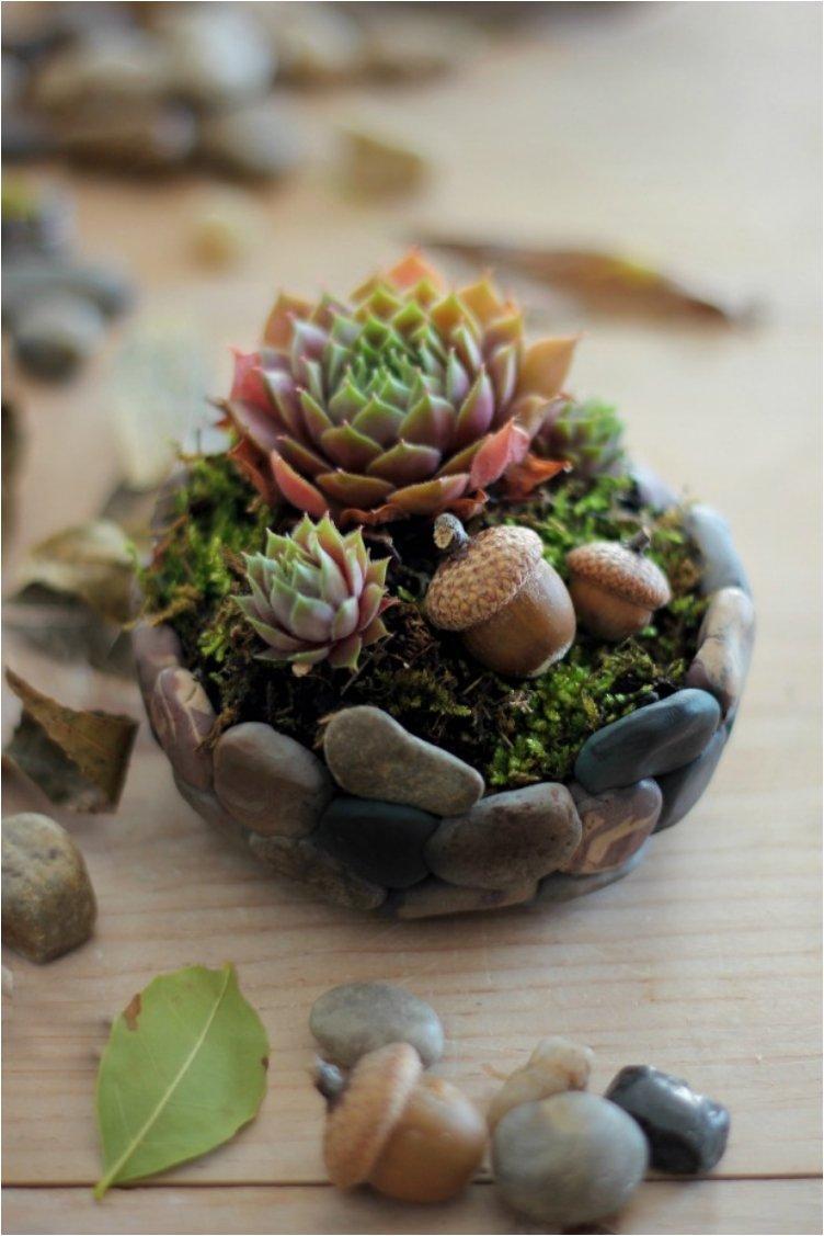 Faux Stone Planter