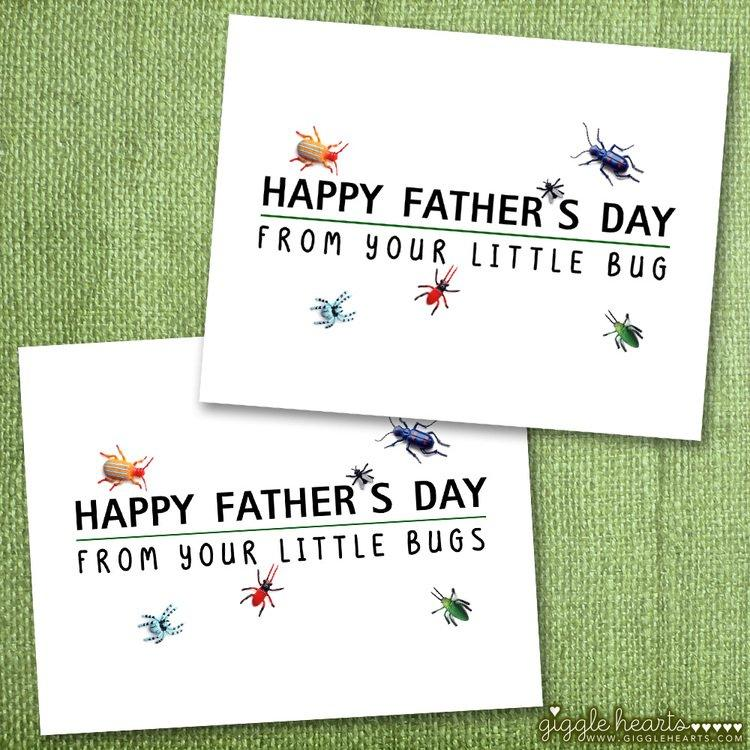 Little Bug Father s Day Cards