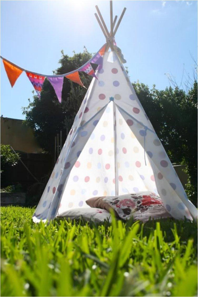 Making A Teepee Tent