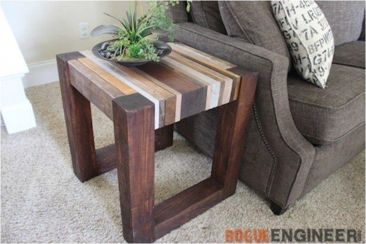 16 Stylish DIY Side Tables Perfect For Your Home Or Garden