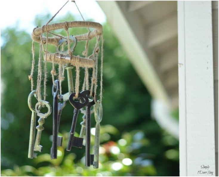 Skeleton Keys Wind-chimes