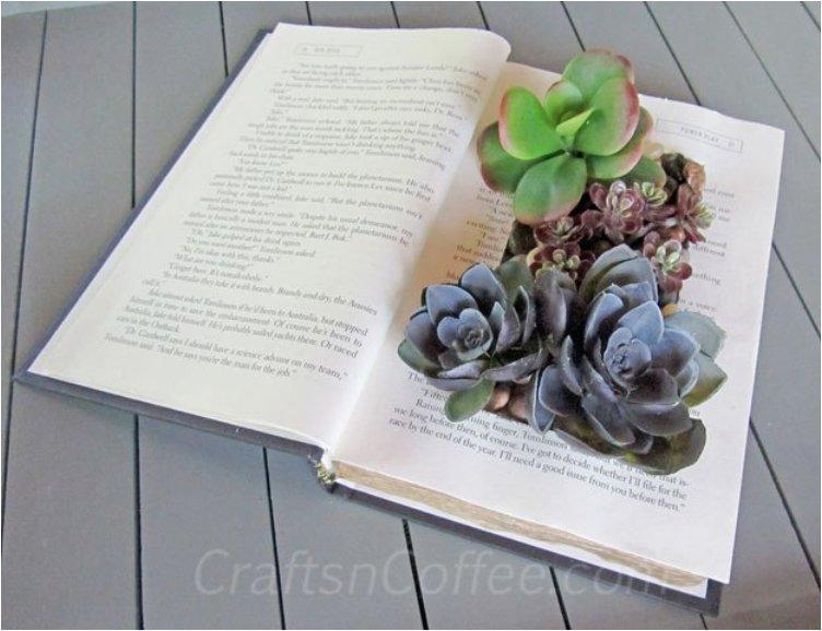 faux-succulent-book-garden