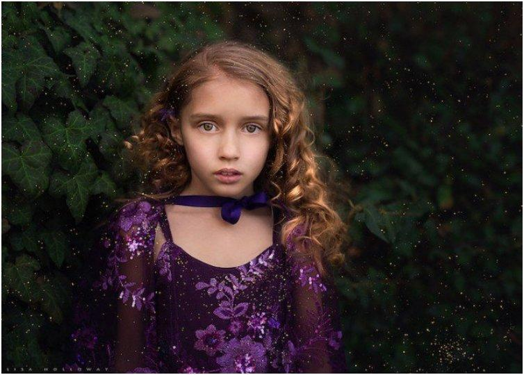Photographer Creates Breathtaking Portraits Of Her 10 Lovely Children
