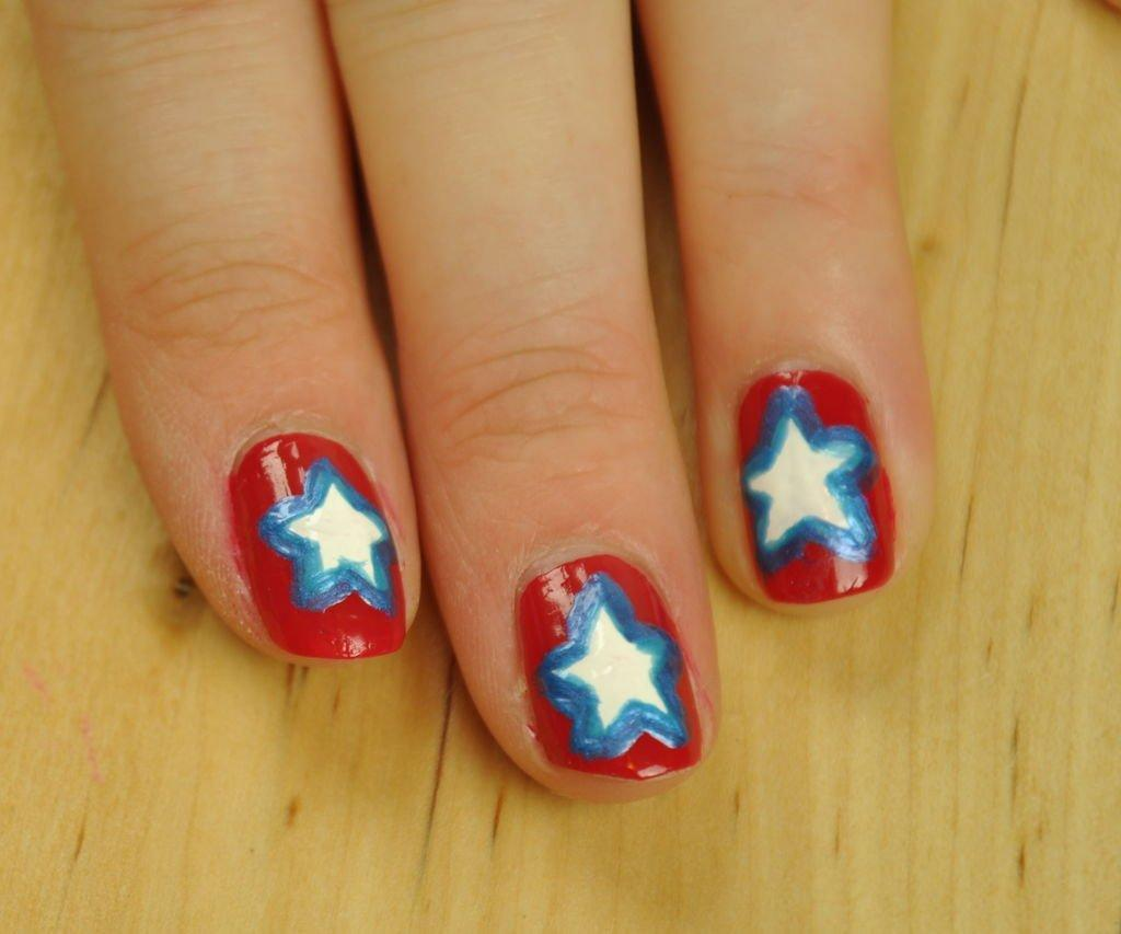 4th of July Star Shield