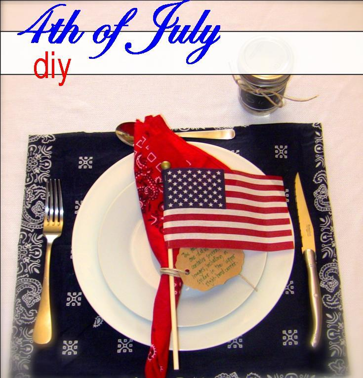 All American Place Setting