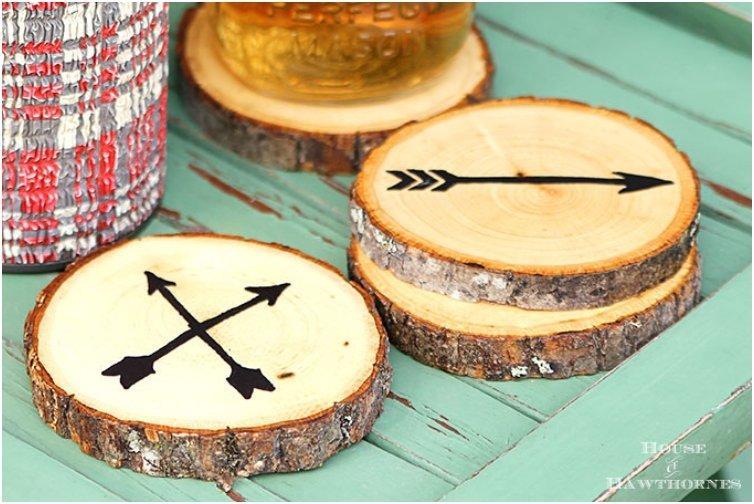 Arrow Wood Slice