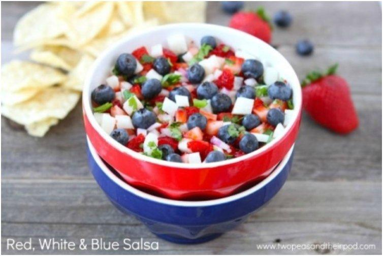 17 Fruity Red, White And Blue Desserts In Time For The 4th Of July