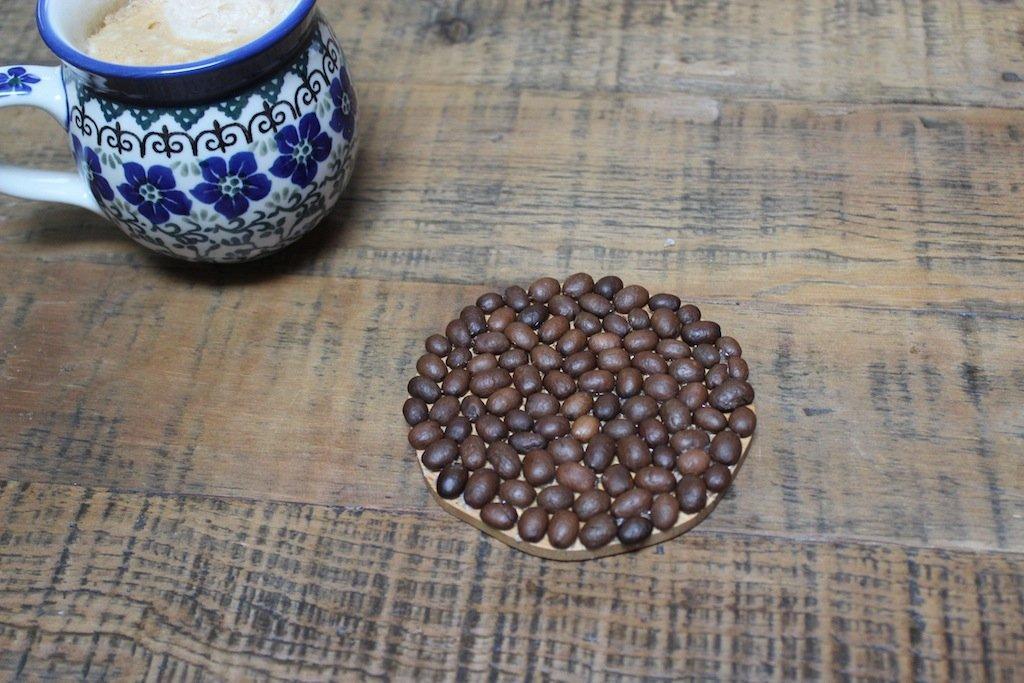 Coffee Bean Coaster