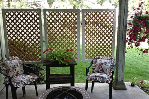 Easy Patio Privacy Screen