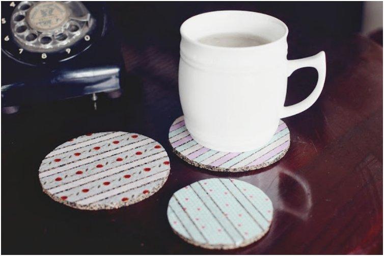 Washi Tape Coaster
