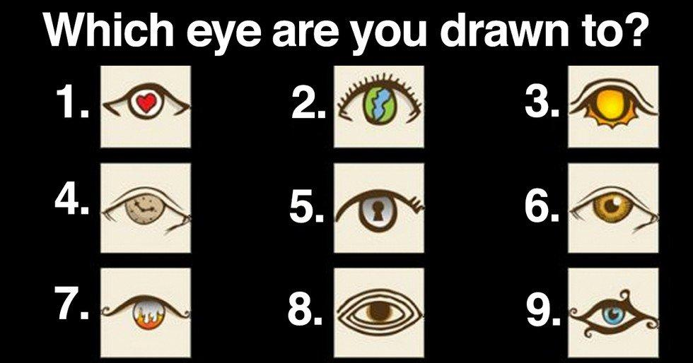 Choose an Eye and Become Amazed of What it Says About You