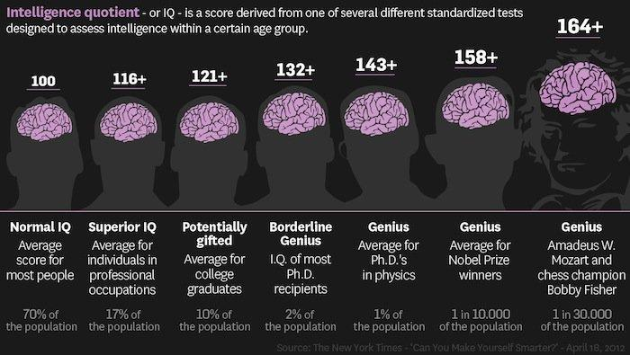 12 Interesting Facts About IQ To Entertain Your Brain