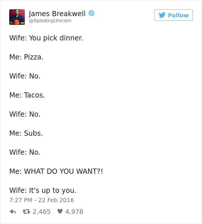 "20 Hilarious Tweets from People Who ""Hacked"" the Marriage Game"