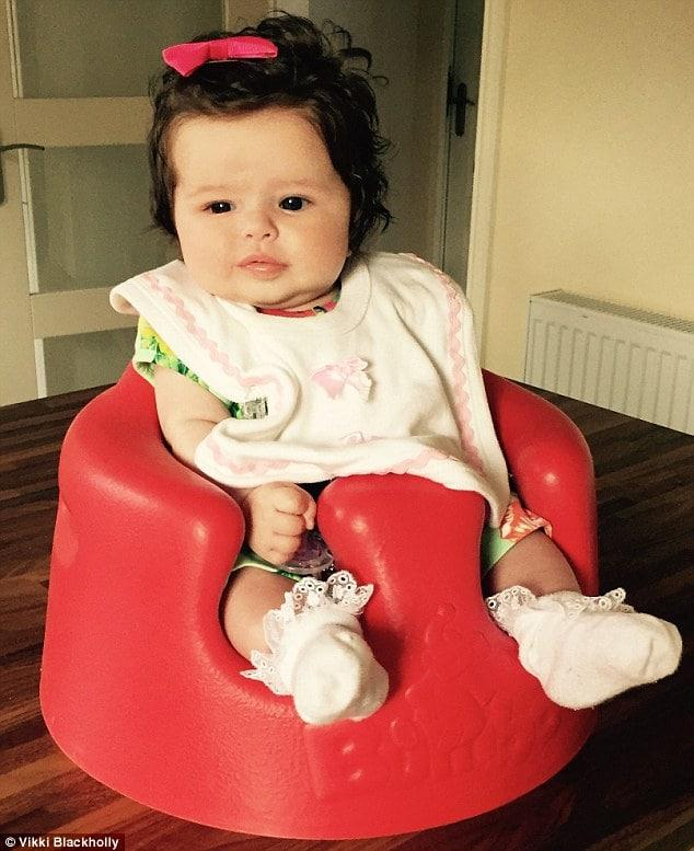 Babies with Amazing Full Heads of Hair are the Cutest Thing Ever