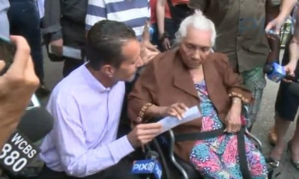 A Man Robs an Old Lady and Gets Served with Instant Karma