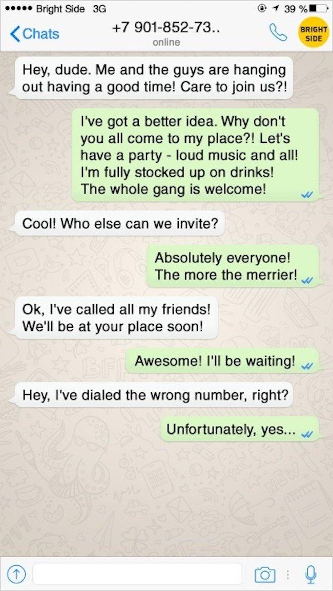 14 Hilarious Answers to People Who Dialed the Wrong Number