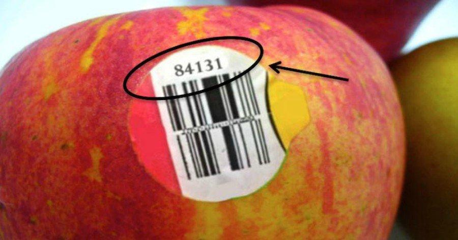 What Kind of Information Do Fruit Label Numbers Reveal?