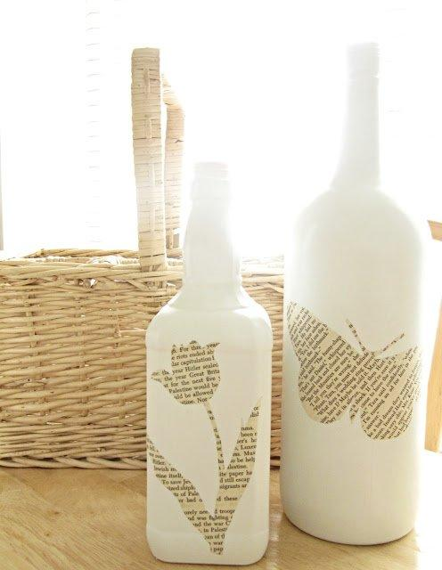 12 Decorative Ways to Reuse Glass Bottles Around the House