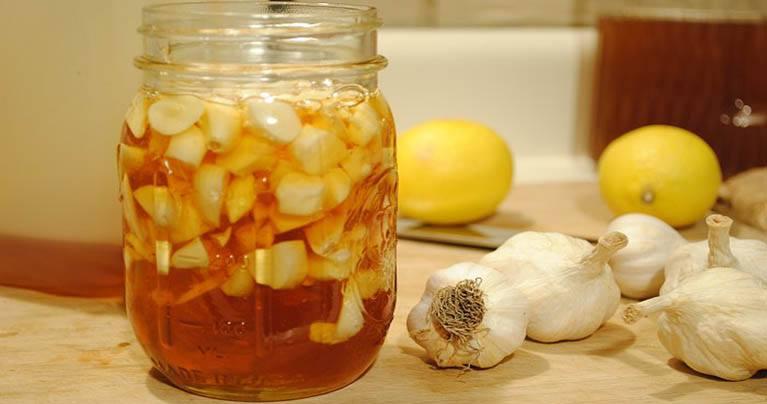 Garlic & Lemon Mixture