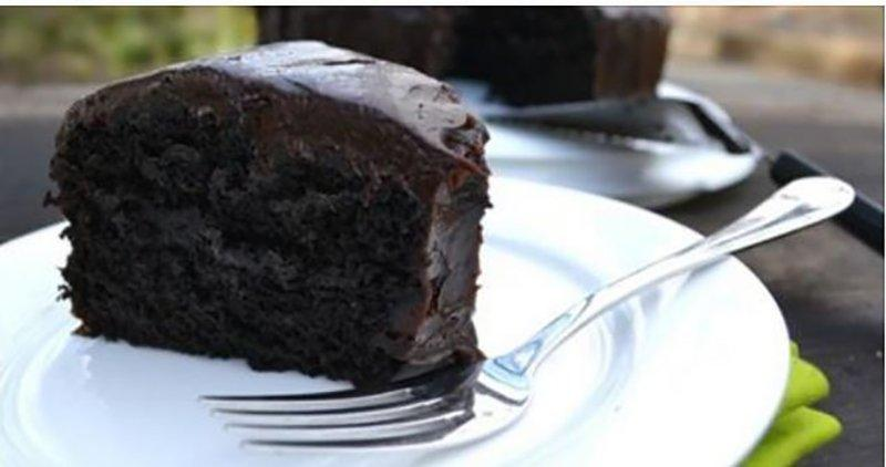 VEGAN: Avocado Chocolate Cake Without Eggs and Butter