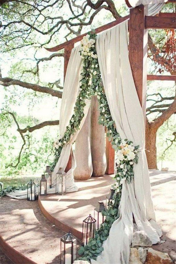 18 wedding arch decoration ideas with flowers and love junglespirit Image collections