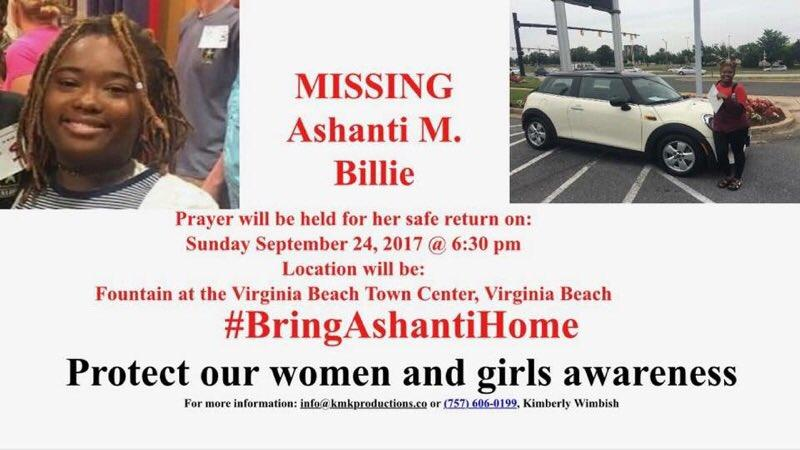FBI Offering $10K For Info Leading To The Location Of Missing Teen Ashanti Billie