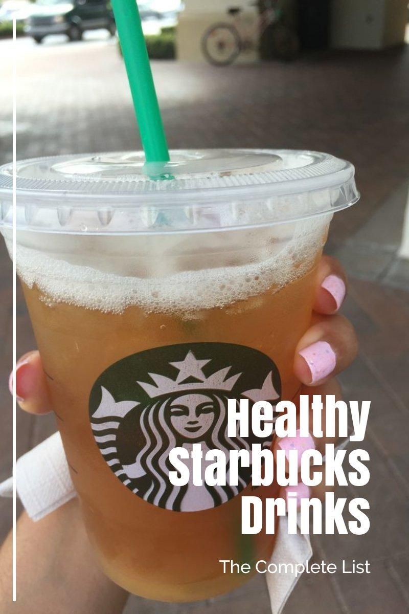 healthy starbucks drinks