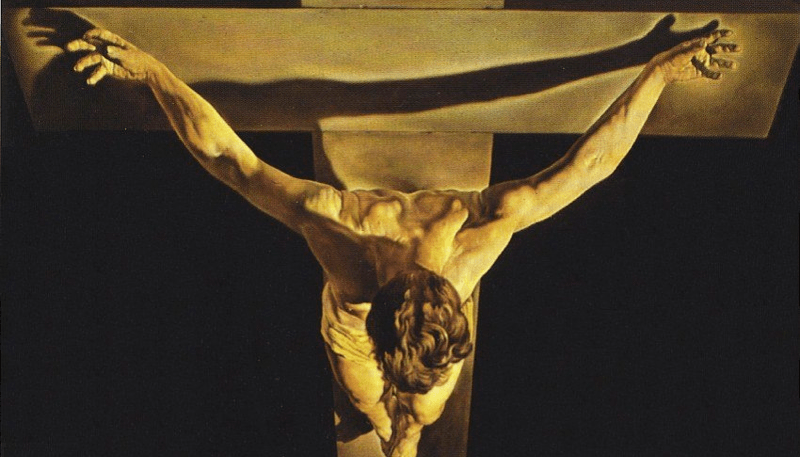 Christ of Saint John of the Cross - Salvador Dali Paintings