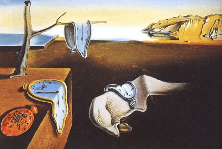 The Persistence of Memory -Salvador Dali Paintings