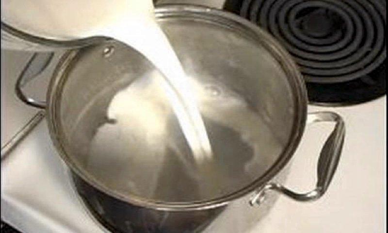 scald milk