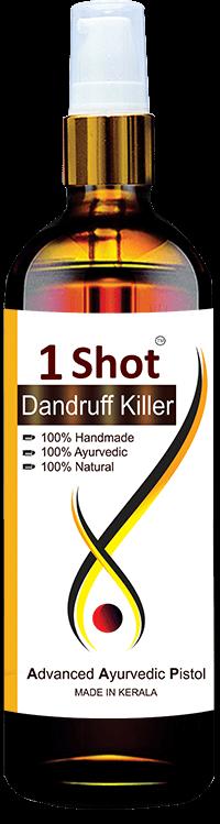 1 Shot Dandruff Killer Review - Result is 100%