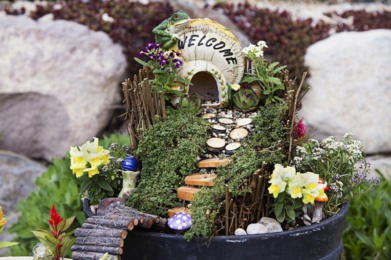 How to Build Your First Fairy Garden