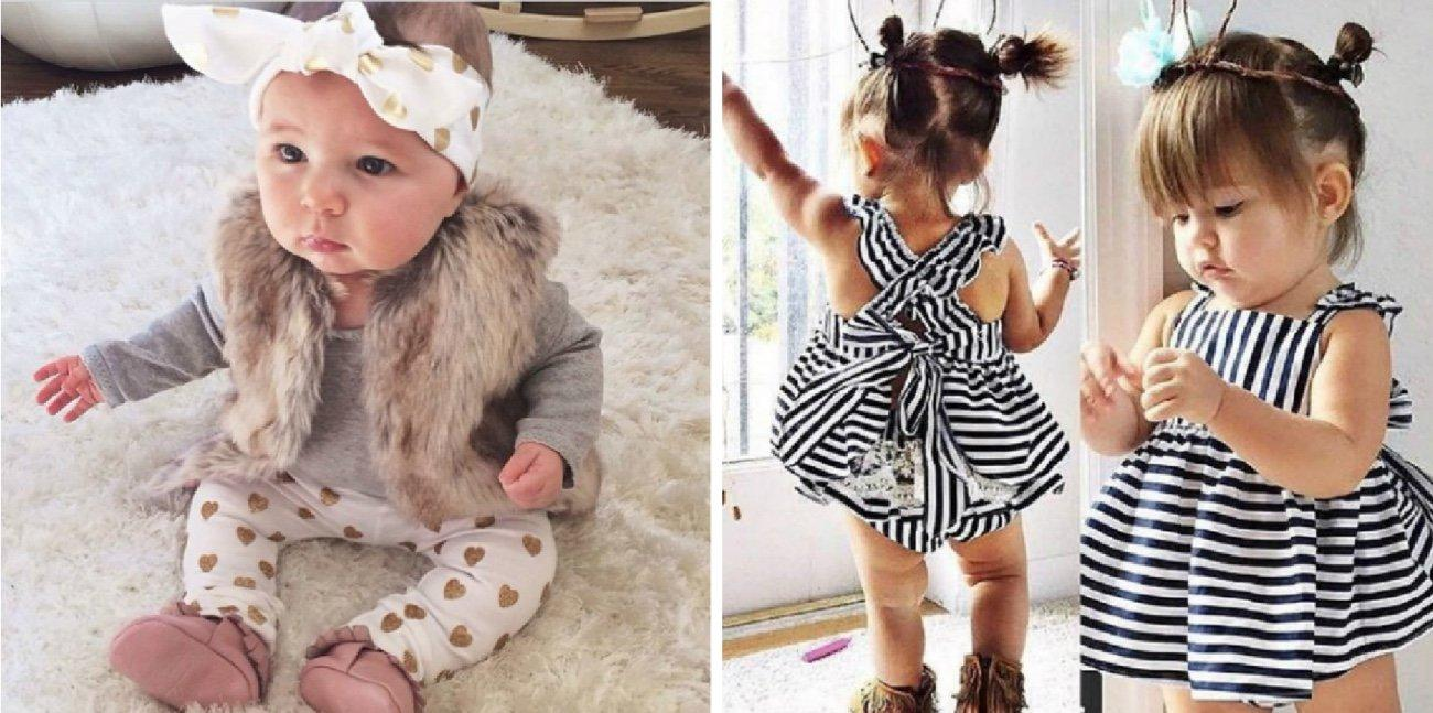 The Best Trendy Cute Baby Girl Outfits for 6