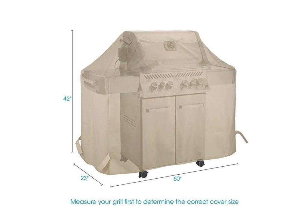 Keep YourGasGrill Looking Like New with TheHeavy-Duty Cover