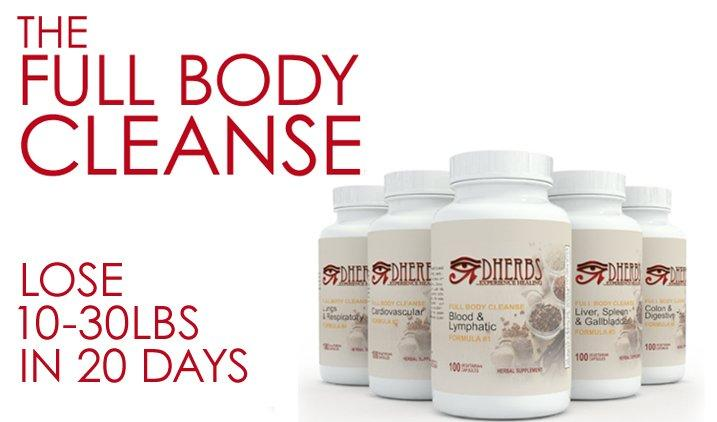 Dherbs Full Body Cleanse Make The Change Your Body Needs