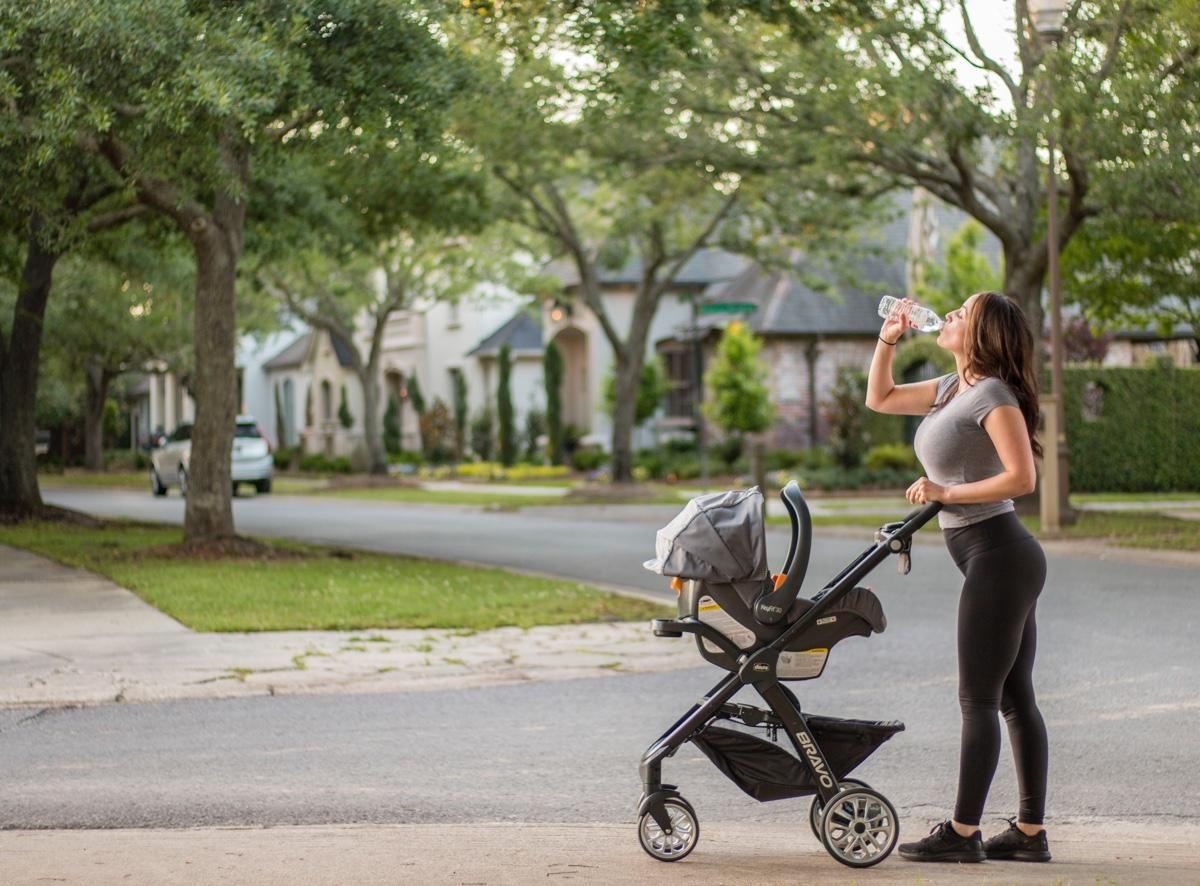 When can you use a jogging stroller?
