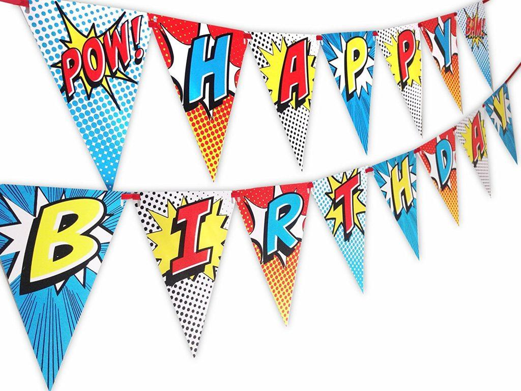 how to create a great looking birthday banner