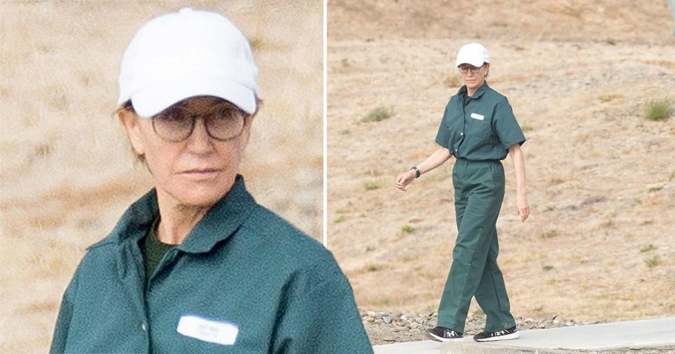 Felicity Huffman Is In Jail And She's Doing Well