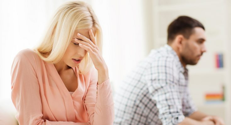 people, relationship difficulties, conflict and family concept -