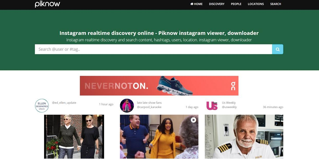 Want to explore Instagram? -Piknow.net is the best way for you