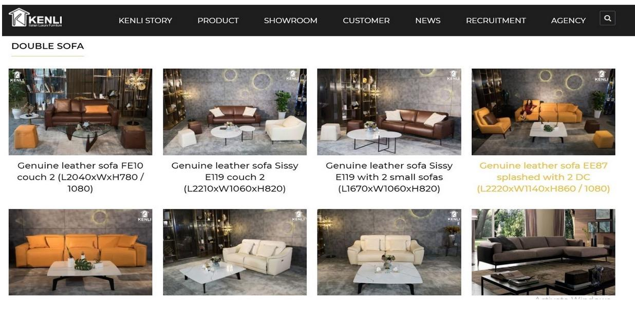 The best place to give you genuine leather Sofa