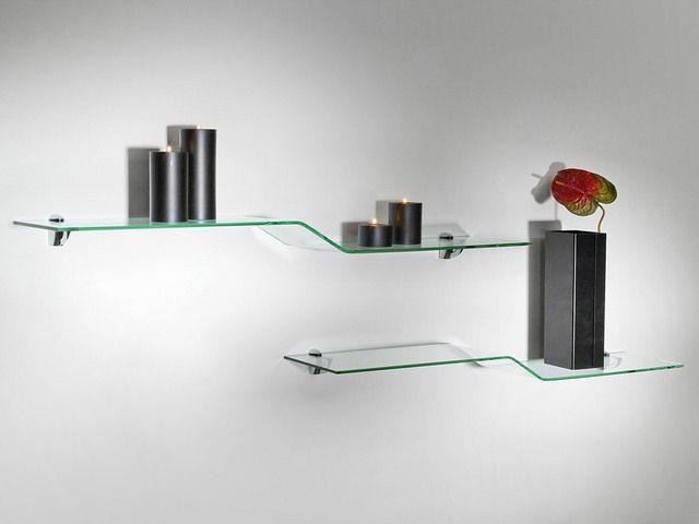 How Can We Make Our Home Spacious, Bright and Modern with Glass Shelves?
