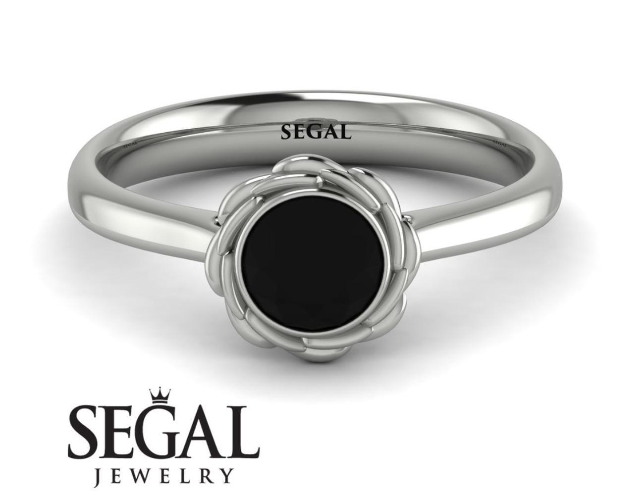 black diamonds rings