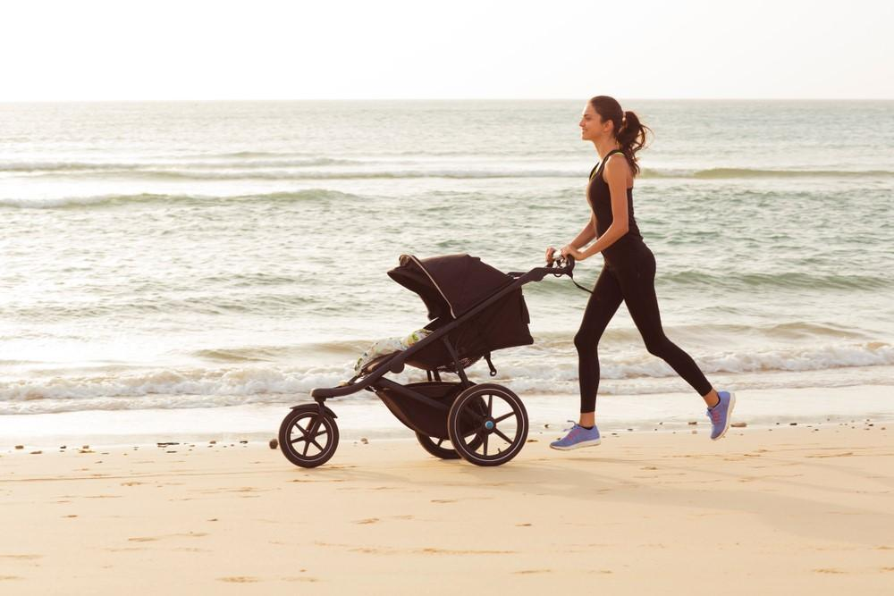 4 Benefits of Running with a Jogging Stroller