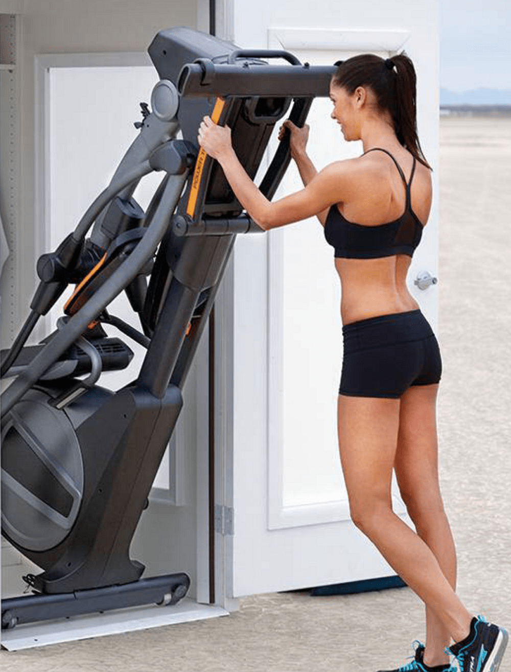 Fitness Model with Elliptical Machine