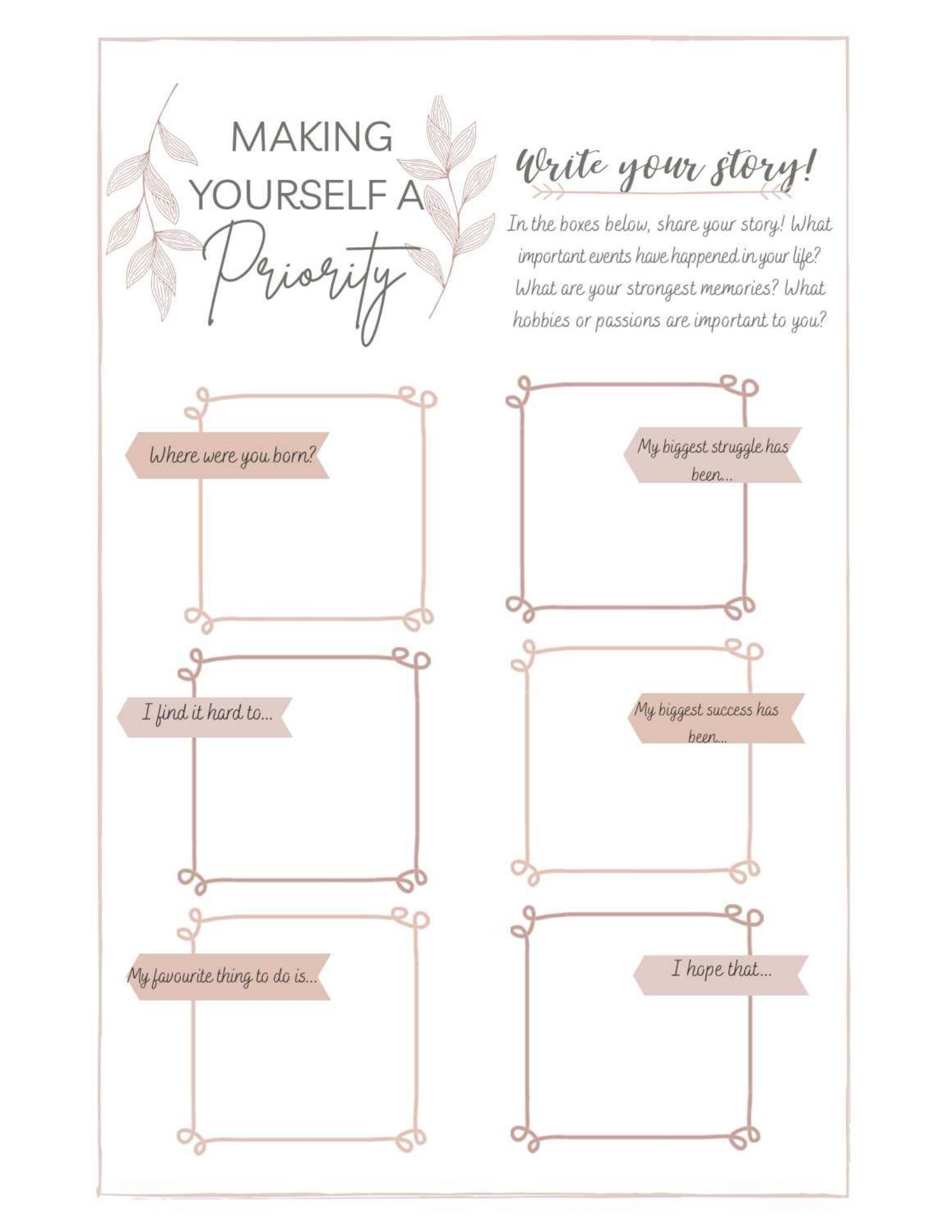 Making Yourself a Priority