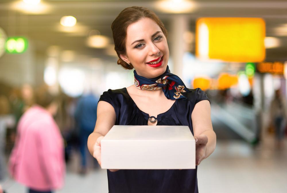 Event hostess stewardess