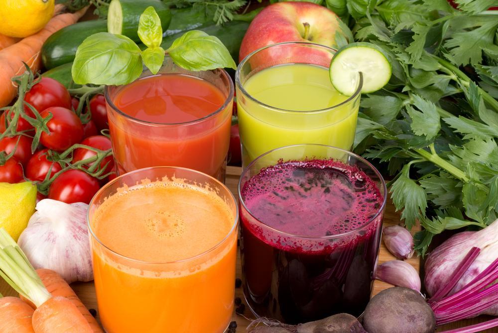 Veggies In Juice