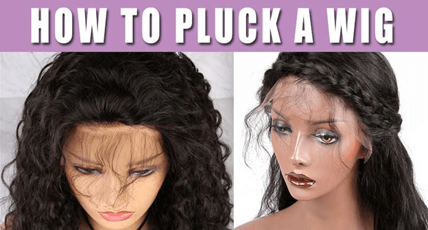 How To Pluck Headband Wig