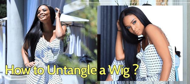 How To Untangle Human Hair Wig